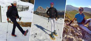 Flavia Comin sulle Dolomiti con gli Ergocurve